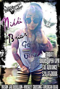 Nikki Briar at the Stanhope House